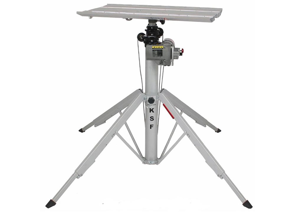 Teleskoplyft markis